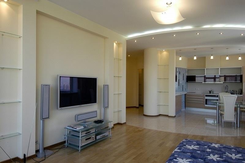 Отделка квартиры студии в новостройке фото