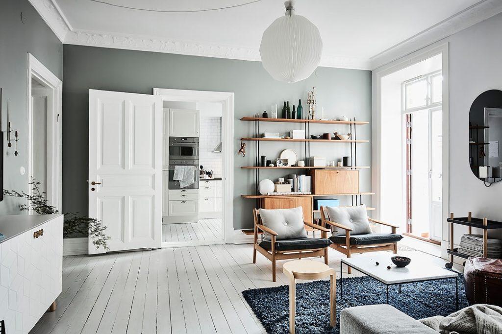 дизайн квартир в скандинавском стиле фото парня