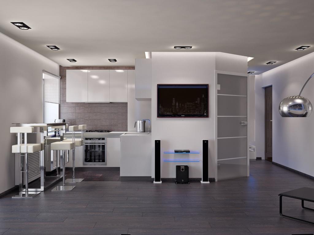 нами удобно студио кухни с фото хай тек для собак дерева