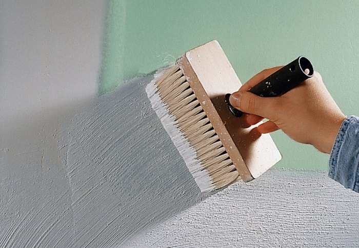Подготовка стен к покраске в новостройках