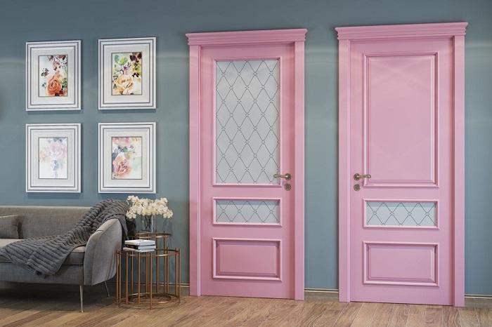 Краска для межкомнатной двери с филенками