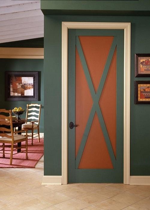 как красить двери в какой цвет фото музей деревянного зодчества