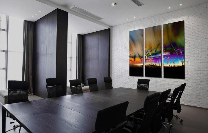 Дизайн стен в офисе_креативные «фишки»